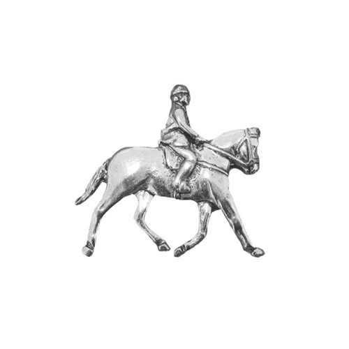 Show Horse and Rider Badge