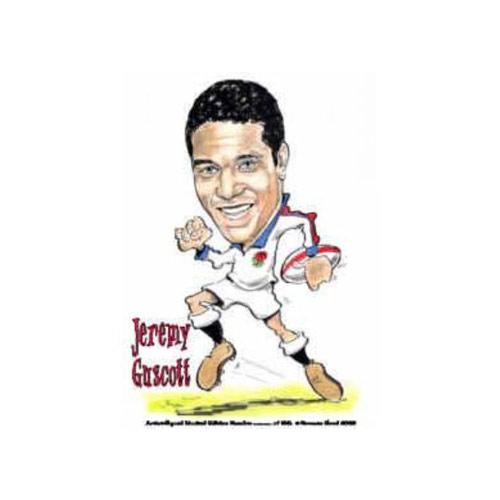 Jeremy Guscott Caricature