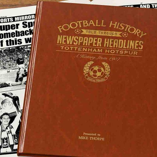 Commemorative Newspaper Book - Tottenham