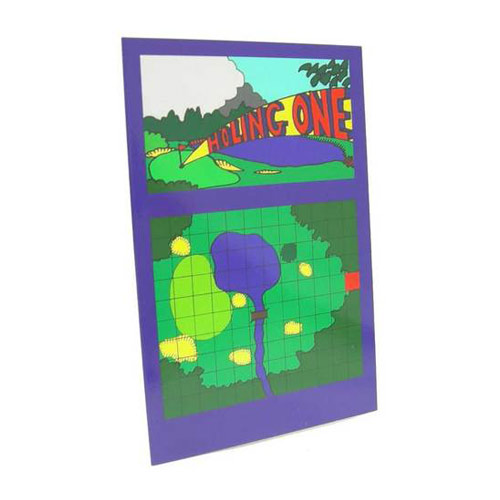 Greeting Game Card - Holing One