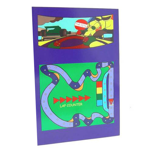 Greeting Game Card - The Pits