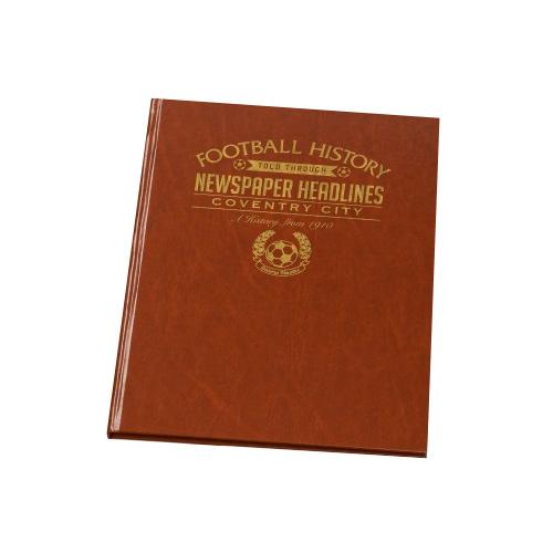 Commemorative Newspaper Book - Coventry City