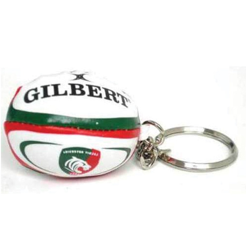 Leicester Tigers Rugby Ball Keyring  59543180b