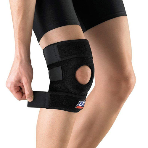 LP Extreme Open Patella Knee Support  - One Size
