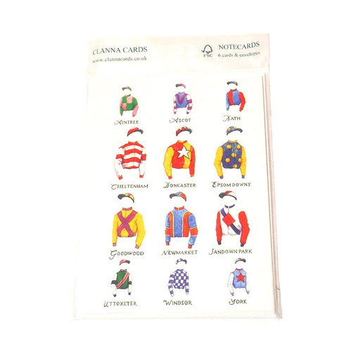 A Day at the Races Notecards (Clanna Cards)