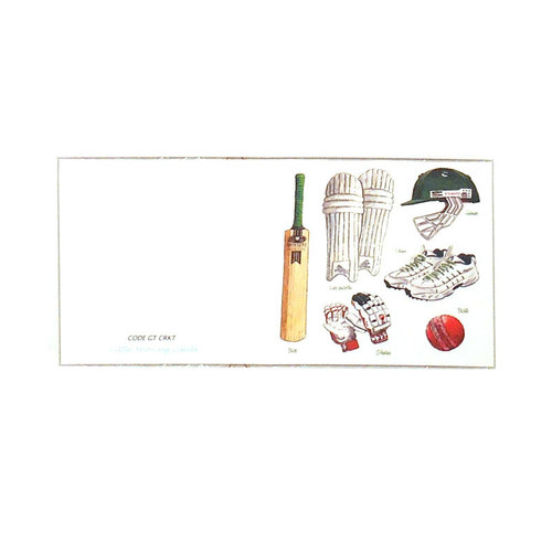 Cricket Gift Tags (Pack of 12)