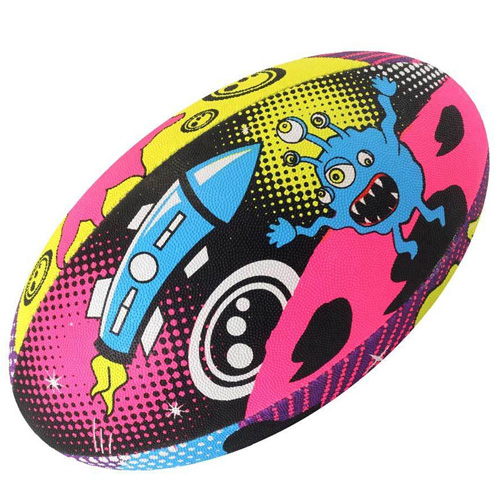 Optimum Space Monsters Rugby Ball