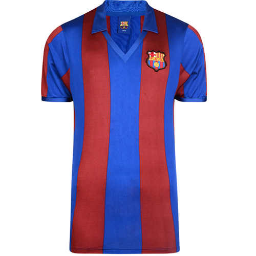 Barcelona 1982 Retro Football Shirt