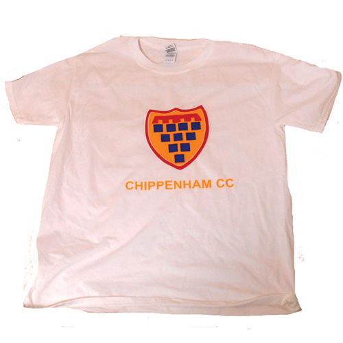 Chippenham CC Logo Tee - White