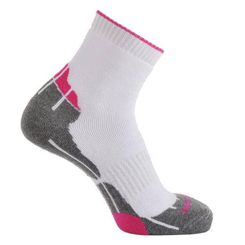 Horizon Women's Technical Golf Socks - White/Hot Pink