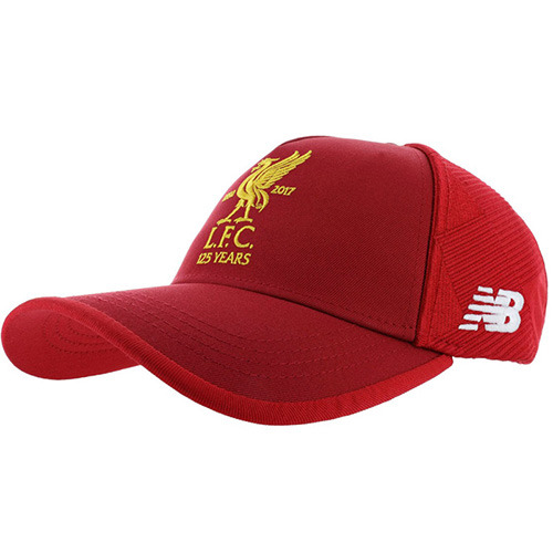 Liverpool Anniversary Football Cap 2017/18 - Red