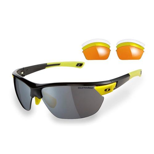 Sunwise Kennington Sunglasses - Black