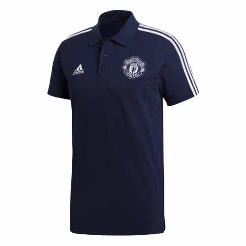 Manchester United 3S Polo Shirt 2018/19
