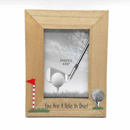 You Are A Hole In One Golf Photo Frame