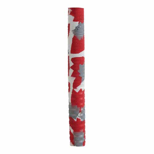 New Balance TC Camo Cricket Bat Grip - Red