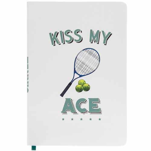 Kiss My Ace A5 Tennis Notebook
