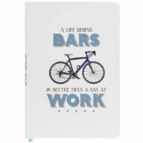 A Life Behind Bars A5 Cycling Notebook