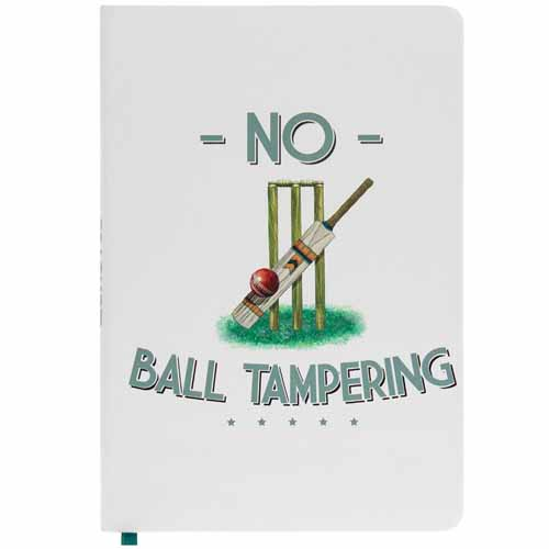 No Ball Tampering A5 Cricket Notebook