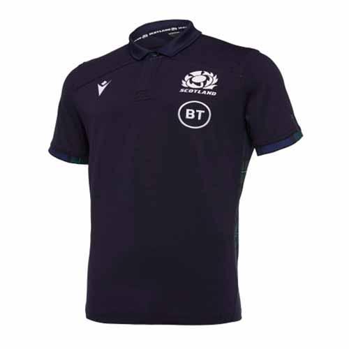 Scotland Home SS Cotton Shirt 2019/20