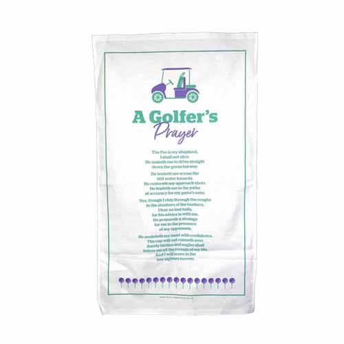 A Golfer's Prayer Tea Towel