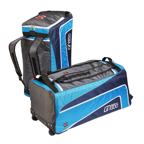 GN GN300 Wheelie Cricket Bag - Blue