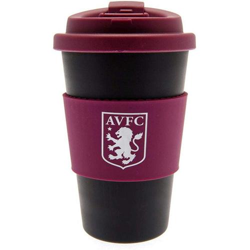 Aston Villa FC Silicone Grip Travel Mug