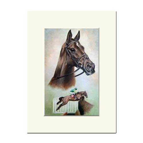 Mounted Study of Denman by Caroline Cook