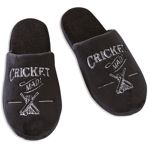Cricket Mad Slippers