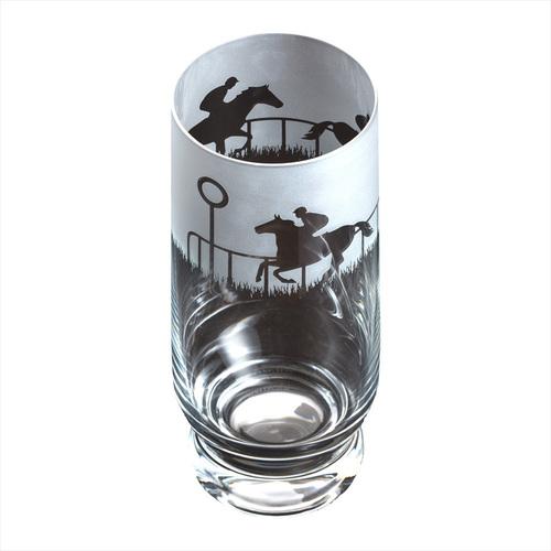 Dartington Crystal Aspect Horse Racing Highball Glass