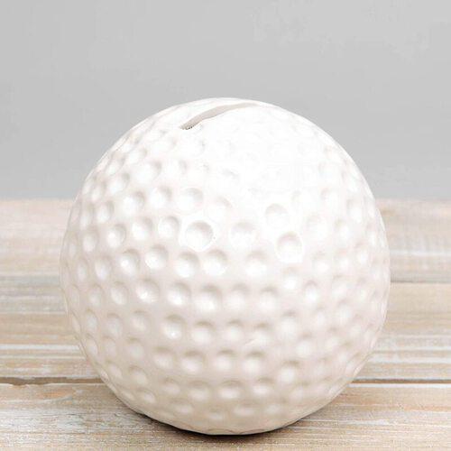 Golf Ball Money Box by Harvey Makin