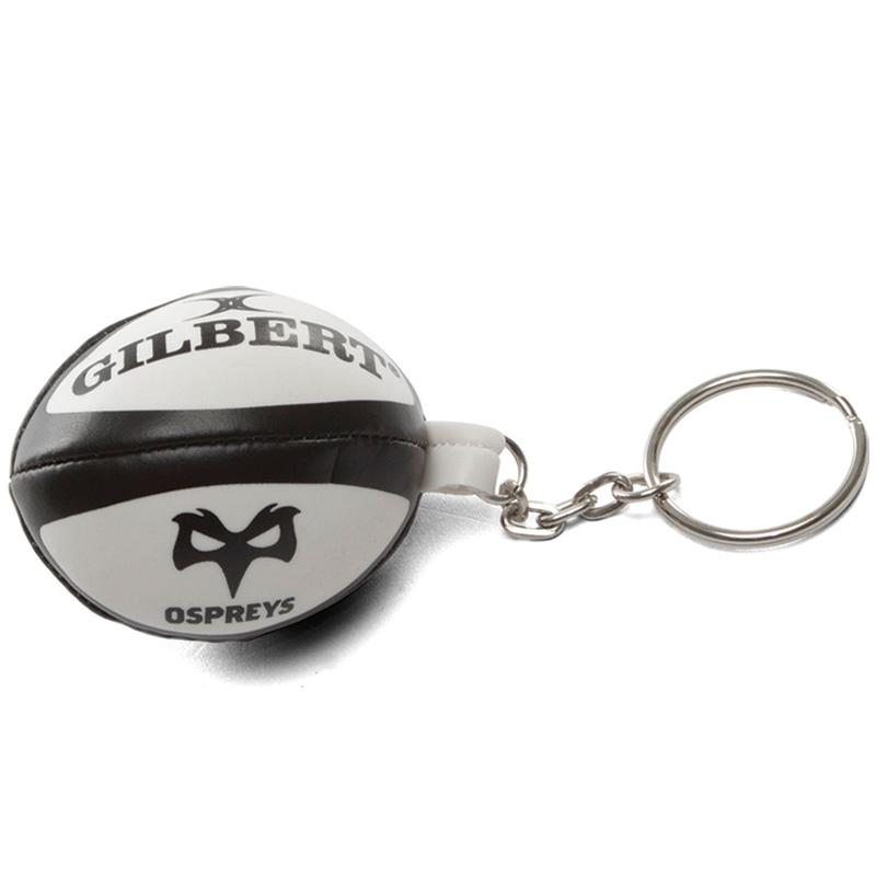 Ospreys Rugby Ball Keyring  2e1efae16