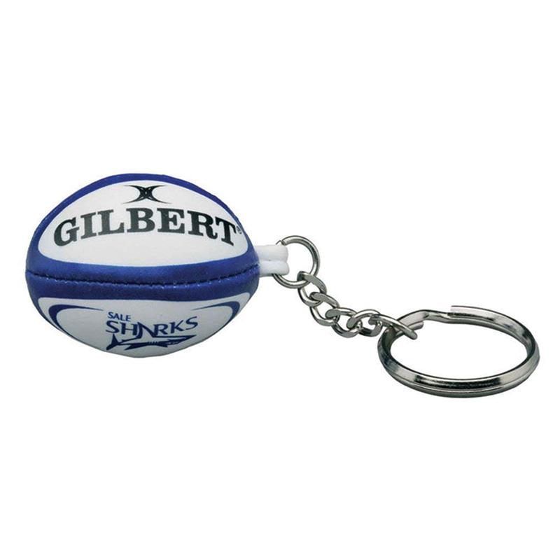 Sale Sharks Rugby Sponge Ball Keyring  bba68f631