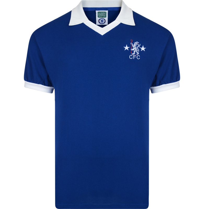f9c68667019 Chelsea 1976 Retro Football Shirt   SportingBilly