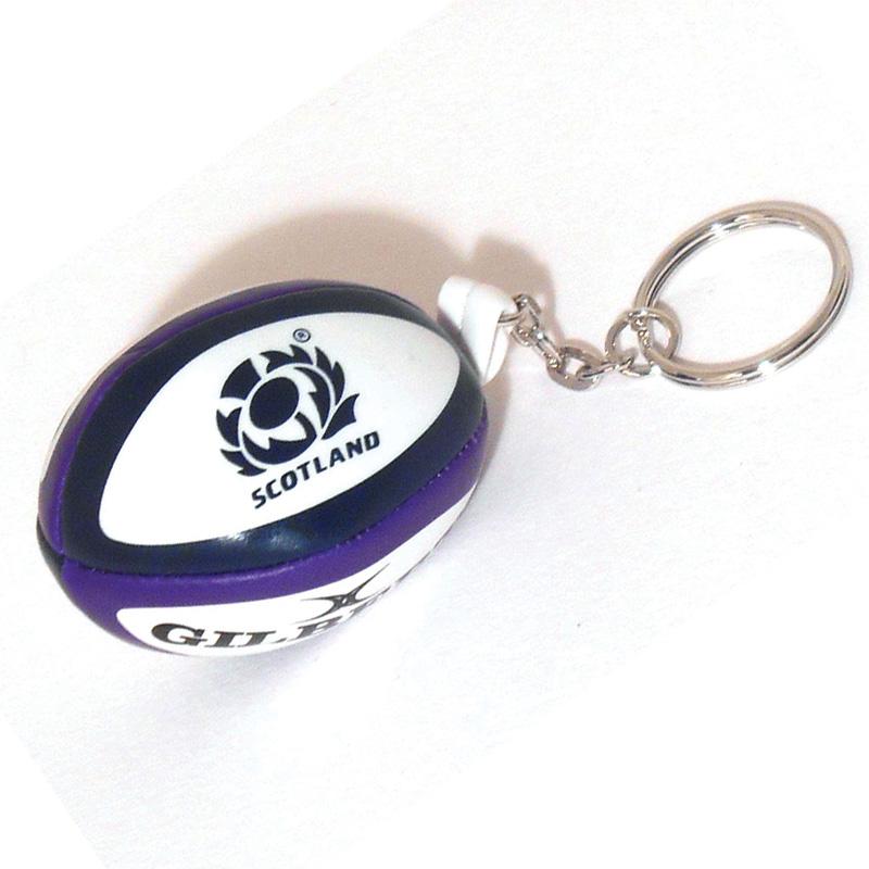 Scotland Rugby Sponge Ball Keyring