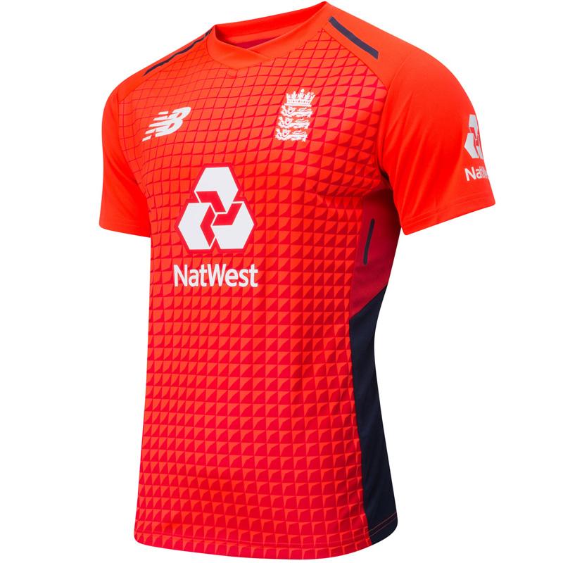 Picante corazón perdido trabajador  New Balance England Cricket T20 Shirt 18 | eBay