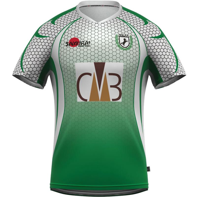 new styles fb2c1 fc41a Samurai Nigeria 7's Rugby Shirt