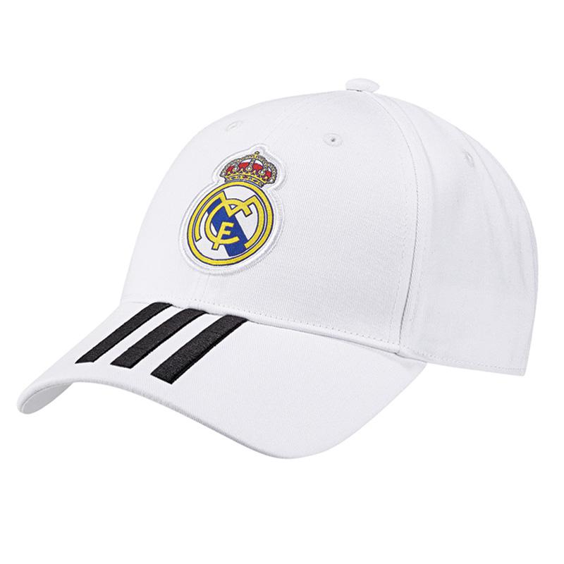 a7f37e2560d adidas Real Madrid 3 Stripe Cap