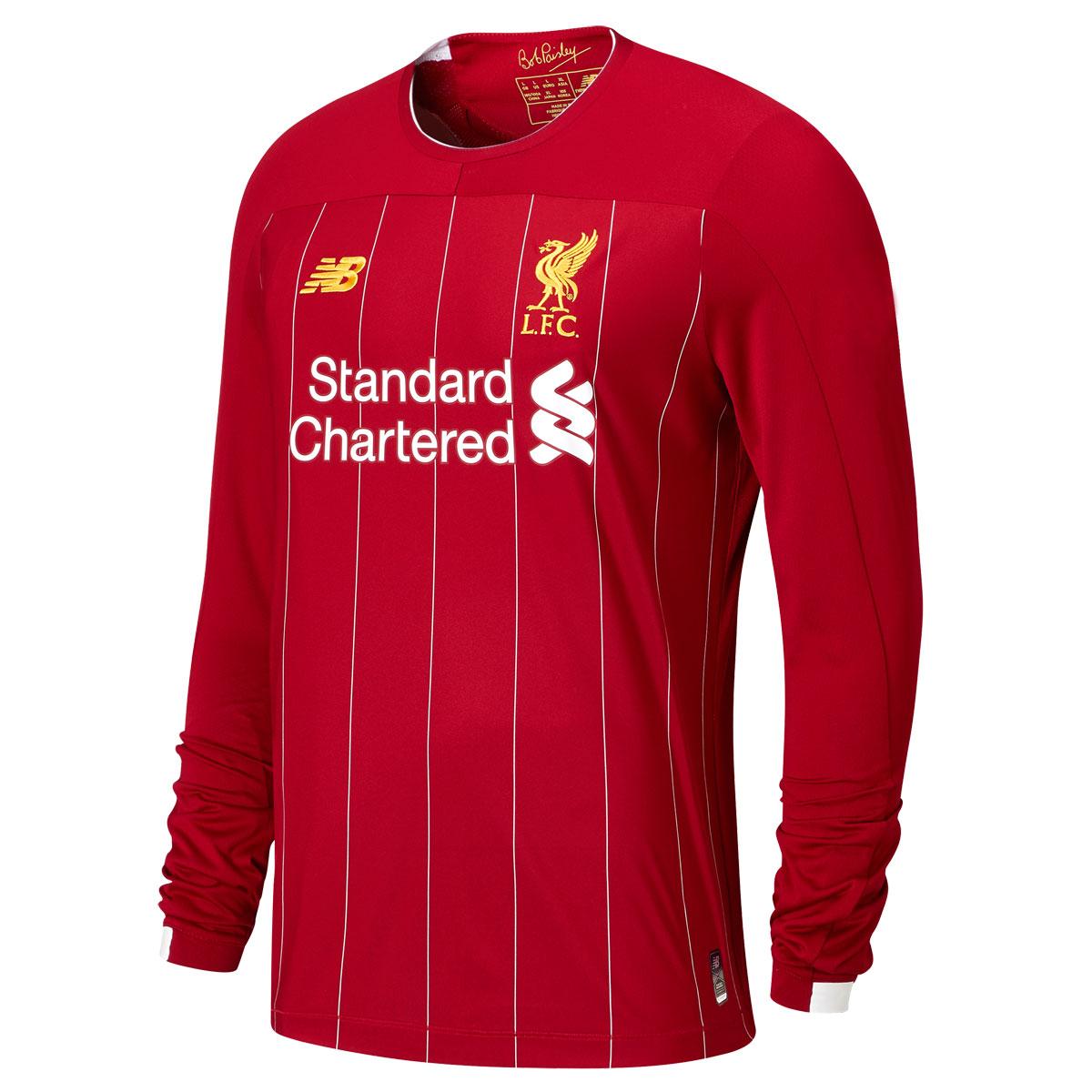 Liverpool Home LS Football Shirt 1920