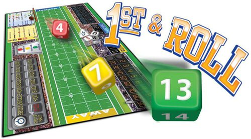 1st & Roll US Football Board Game