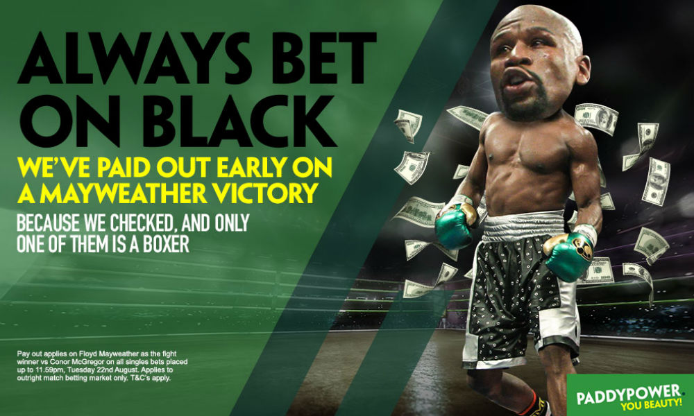 Mayweather v McGregor: Irish bookies pay out early… on a Mayweather win article feature image