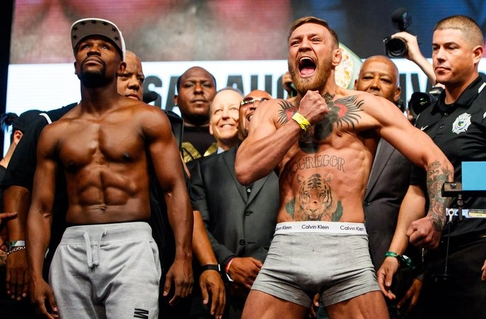 Record action for historic Mayweather vs. McGregor fight article feature image