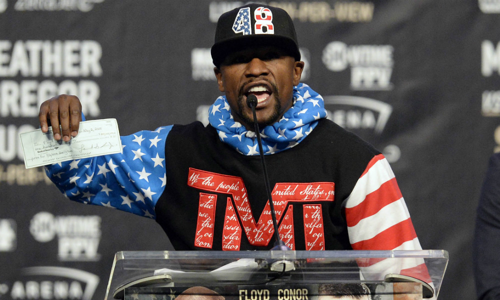 Did Floyd Mayweather manipulate the #MayMac markets in his favor? article feature image