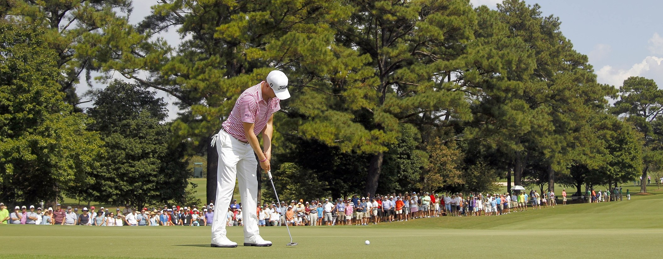 Tour Championship: Justin Thomas moves into tie for the lead, favored after two rounds article feature image