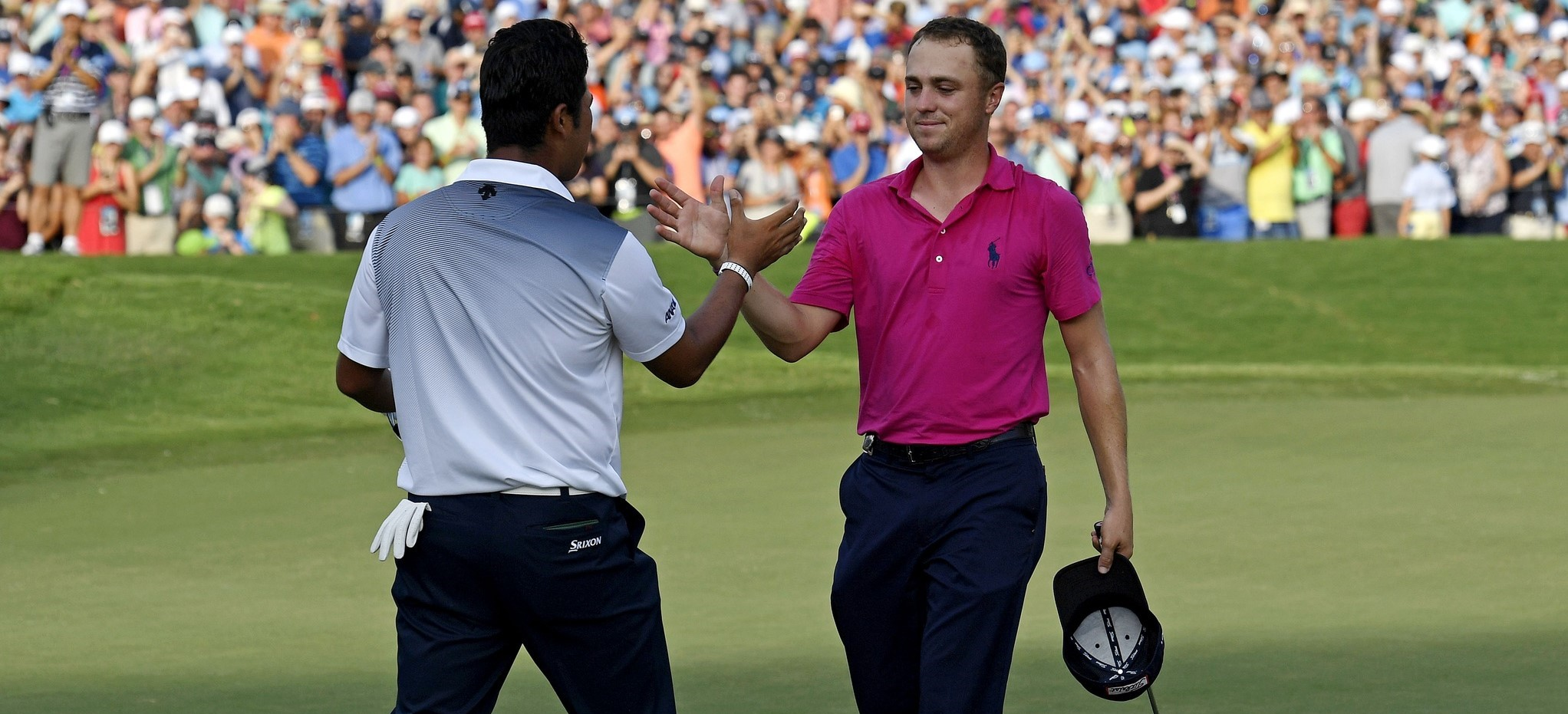 CJ Cup: Wind shakes up leaderboard article feature image
