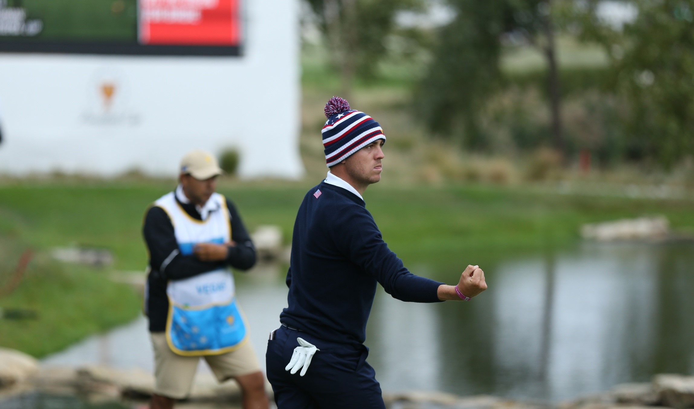 CJ Cup: Thomas back on top after more difficult conditions article feature image