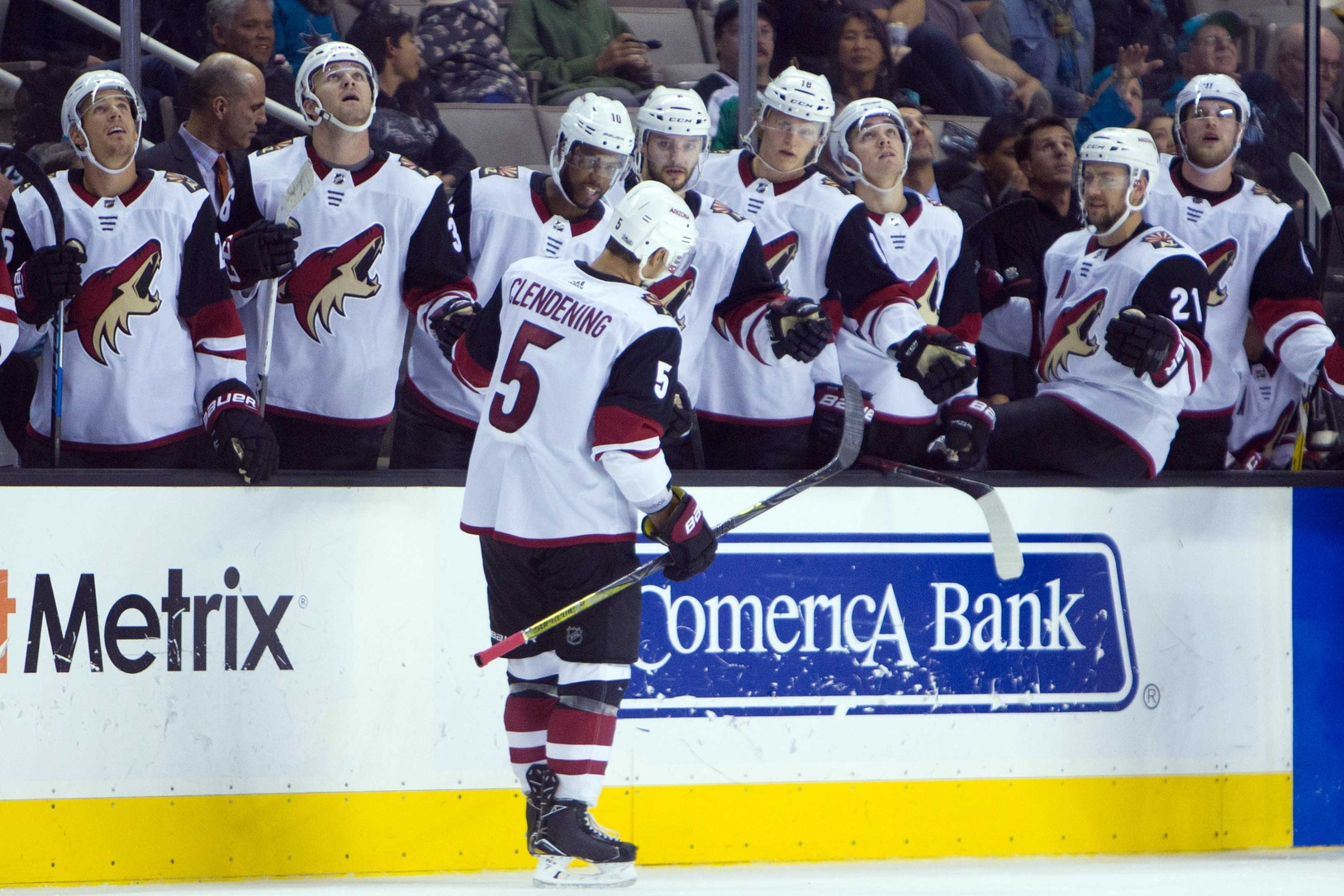 NHL: Coyotes are live dogs on night two article feature image