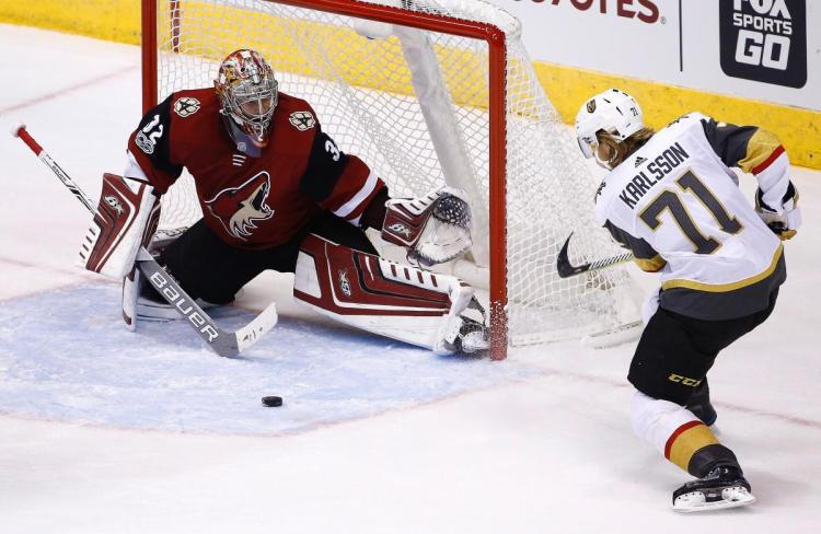 Tuesday's NHL bet du jour: Coyotes at Golden Knights article feature image