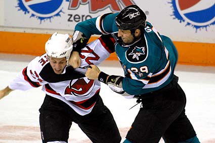 Friday's NHL bet du jour: San Jose at New Jersey article feature image