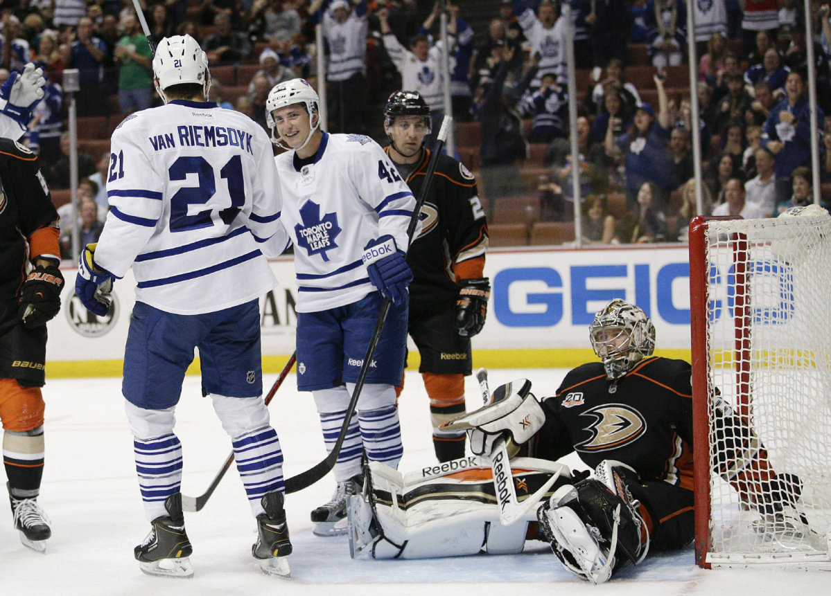 Wednesday's NHL bet du jour: Toronto at Anaheim article feature image
