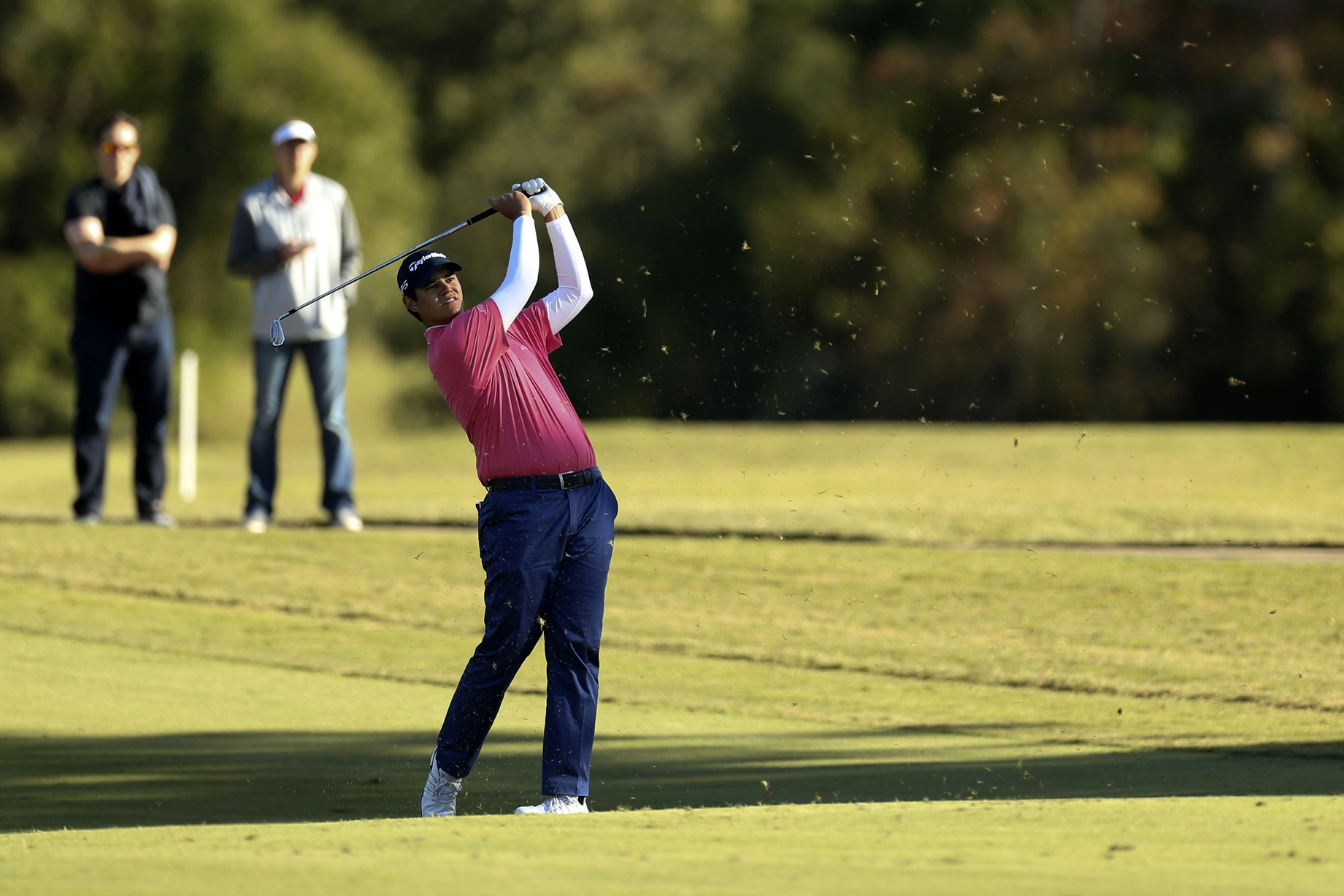 Shriners Hospitals: Long shot Hossler tied after three rounds article feature image